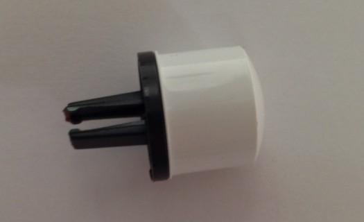 AEG Witte knop bedieningspaneel voor vaatwasser  witgoedpartsnr: 1118061512