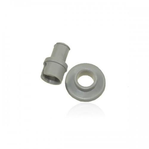 AEG/Electrolux Wieltje met asje van bovenkorf voor vaatwasser witgoedpartsnr: 4071342564