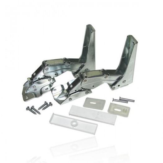 Atag Metaal scharnier set compleet voor koelkast witgoedpartsnr: 70701573