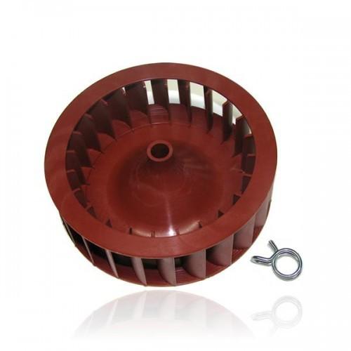 AEG / Electrolux waaier voor wasdroger korte as rood witgoedpartsnr: 8996474081172