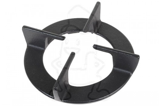 Ariston / Blue air pannendrager zwart rond 75mm witgoedpartsnr: 260599