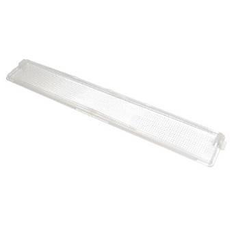 Pelgrim glaasje van lamp voor afzuigkap 368x59mm witgoedpartsnr: 88016360