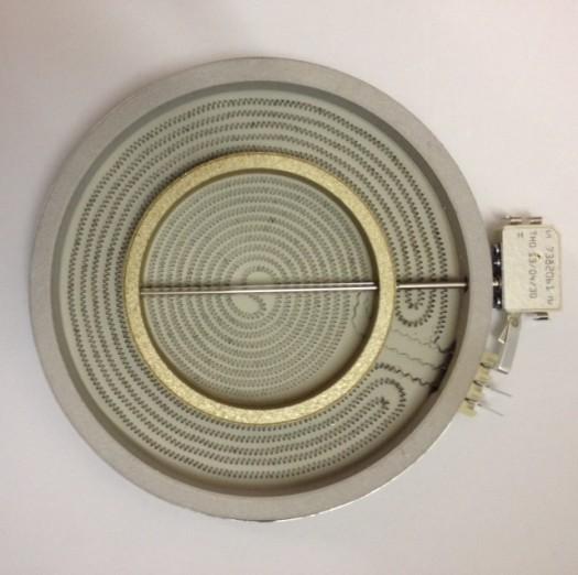 Universeel kermische straalelement 2100W dual 23 cm witgoedpartsnr: Unidual