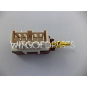 AEG Druktoets aan / uit schakelaar voor wasmachine witgoedpartsnr: 1249271311