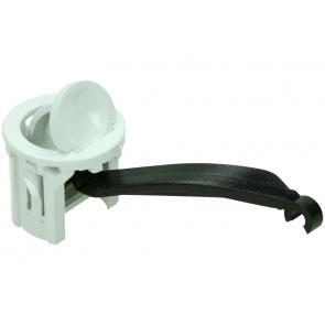 Bosch / Siemens knop met haak van inspectiepaneel voor wasdroger witgoedpartsnr:  154184