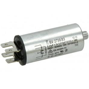Miele condensator (ontstoringsfilter) voor wasdroger of vaatwasser  2815861
