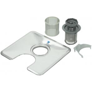 Bosch / Siemens Filter compleet met microfilter voor vaatwasser witgoedpartsnr: 480934