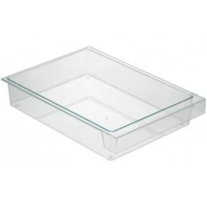 Bosch / Siemens Bak onder glasplaat voor koelkast 300x212x58mm 00434342