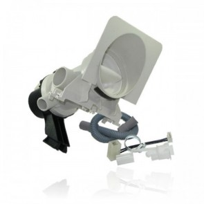 Whirlpool / Bauknecht afvoerpomp voor wasmachine  481231028144