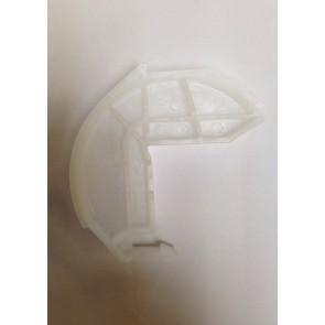 Whirlpool / Bauknecht Geleider halve maan van deurmechanisme  witgoedpartsnr: 481240448746