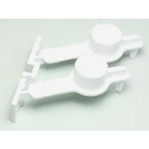 Whirlpool / Bauknecht drukknop set voor wasdroger witgoedpartsnr: 481241029401
