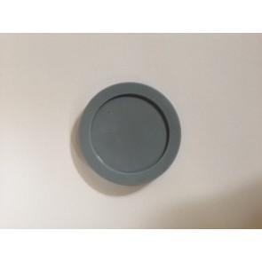 Whirlpool / Bauknecht Ronde afdichting van zeepbak voor vaatwasser witgoedpartsnr: 481246668497
