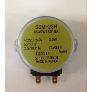 Bosch / Siemens Motor van draaiplateau (combi) magnetrons  witgoedpartsnr: 489688
