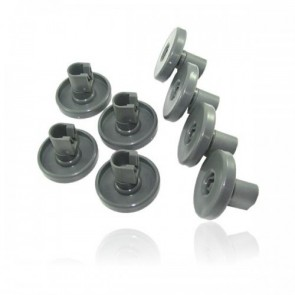 Zanussi / AEG / Ikea Korfwiel voor vaatwasser van onderkorf 8 stuks  50286965004