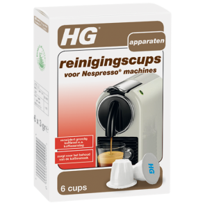 HG reinigingscups voor Nespresso® machines - 678000100