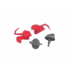 Bosch / Siemens vergrendeling set van metalen filter witgoedpartsnr: 181272