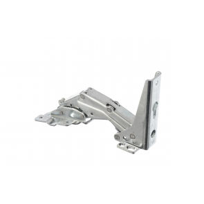 Bosch / Siemens scharnier LI.boven/RE.onder voor koelkast witgoedpartsnr: 483620