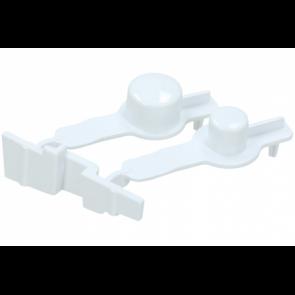 Whirlpool / Bauknecht drukknop set voor wasdroger witgoedpartsnr: 481251318172
