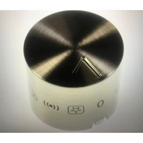 Whirlpool Bauknecht Standenknop zilver 481010568561