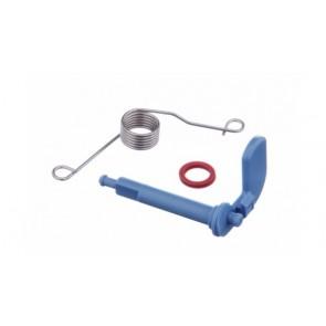 Bosch / Siemens Sluiting van zeepbakdeksel voor vaatwasser 00166630