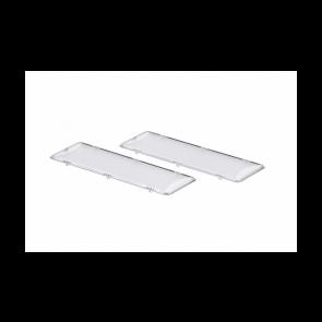 Bosch / Siemens glaasje van lamp set van 2 stuks witgoedpartsnr: 264984