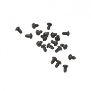 Zanussi rubber dopjes van pannendrager 20 stuks witgoedpartsnr: 50268837007