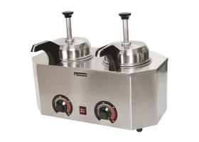 Warme sauzen dispenser