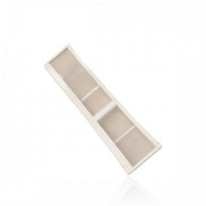 Miele Pluizenfilter smal in deurrand halve maan voor wasdroger witgoedpartsnr: 1230980