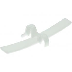 Glijblokje van trommel / viltband lagering Wordt gebruikt in diverse Zanussi wasdrogers waaronder de TDS372 Inhoud: 1 stuks