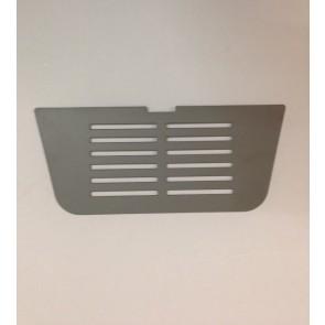 Whirlpool / Bauknecht lekbak rooster zilver witgoedpartsnr: 480132101462