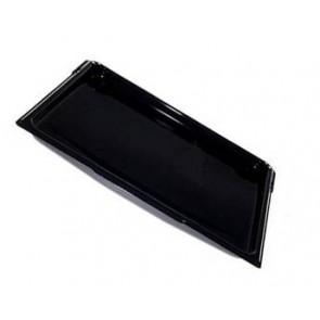 Emaille bakplaat zwart Breedte:435mm Diepte: 365mm Hoogte: 15mm word gebruikt in diverse Smeg ovens waaronder de S380X Inhoud: 1 stuks