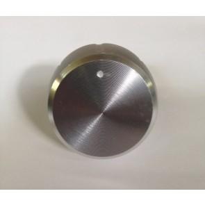Whirlpool / Bauknecht keuzeknop chroom witgoedpartsnr: 481010389396