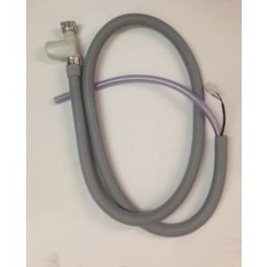 Whirlpool / Bauknecht aanvoerslang met aquastop witgoedpartsnr: 481253029416