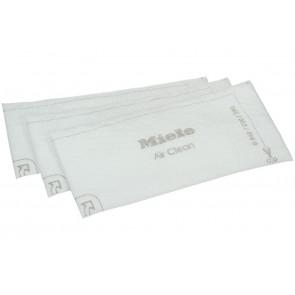 Miele filter super air clean 3 stuks voor stofzuiger witgoedpartsnr: 3944711