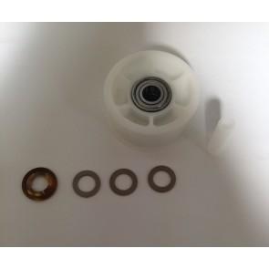AEG / Electrolux Spanrol met 2 lagers voor wasdroger witgoedpartsnr: 8996474081032