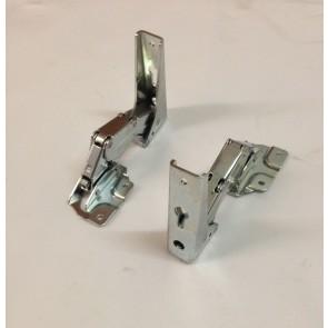 Gorenje / Atag scharnier set voor koelkast  witgoedpartsnr: 331776