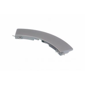 Bosch / Siemens Deurgreep gebogen zilver voor wasmachine witgoedpartsnr: 647424