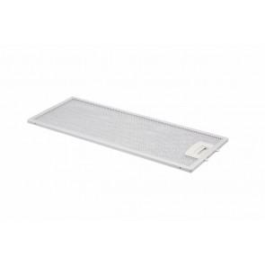 Metalen filter in houder 445x175mm Wordt gebruikt in diverse Bosch / Siemens afzuigkappen waaronder de LI23030 LI23530 DAM 40 Inhoud: 1